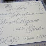 Bible Quote Wall Decal
