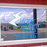 Custom Window Decal for Electric Impulse