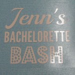 Custom Bachelorette Party Decals