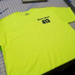 Custom Safety Green T-shirt