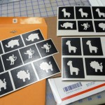 Custom One-Time Use Glass Etching Stencils