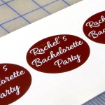 Custom Bachelorette Party Glass Decals