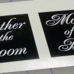 One-Time Use Glass Etching Stencil