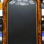 Custom Lettering for Chalkboard