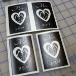 Glass Etching Stencils
