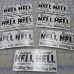 Custom Bachelorette Party Favor Decals