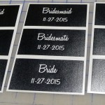 One-Time Use Stencils for Wedding Party