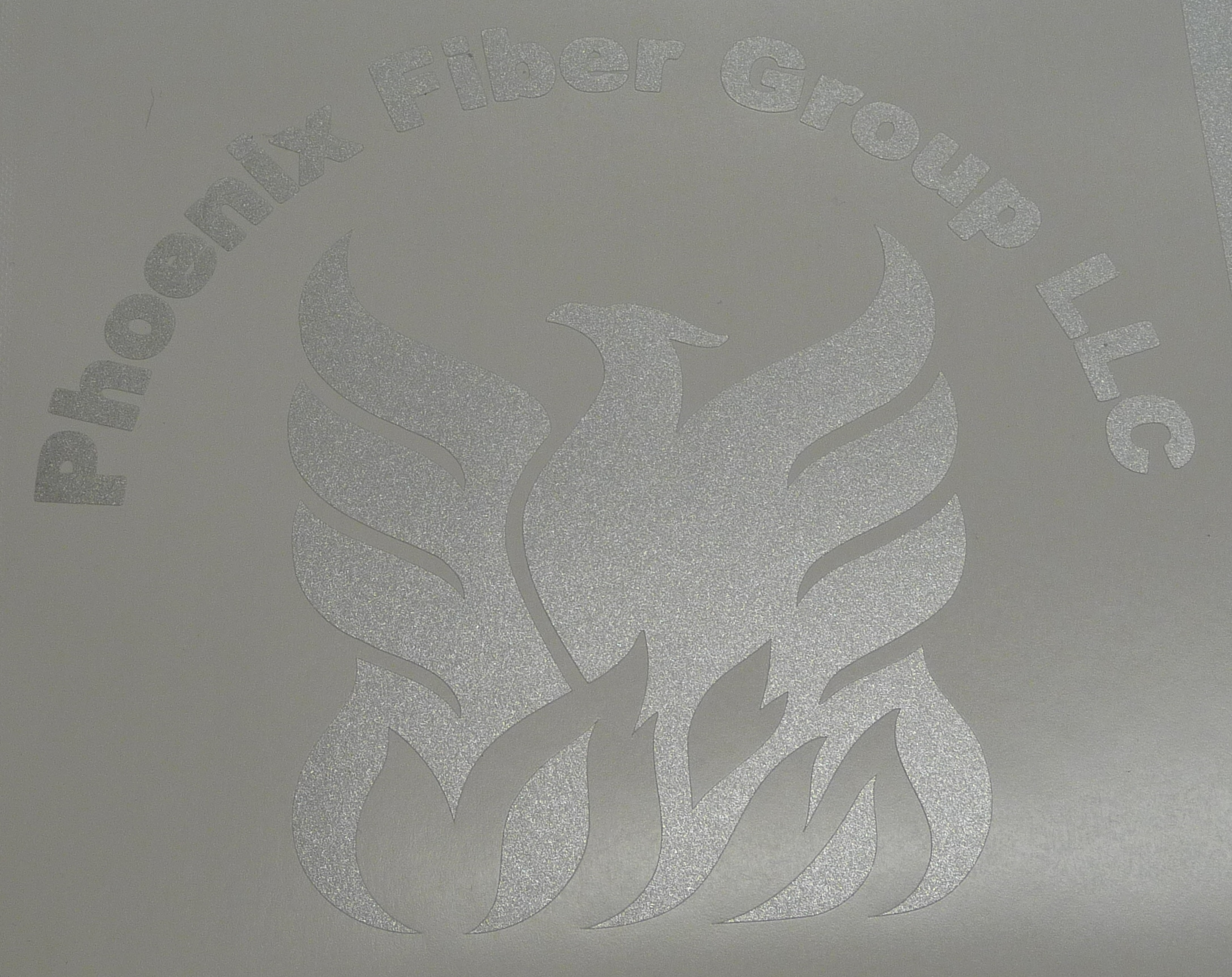 Etched Glass Decal