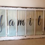 Finished Window with Wall Decal