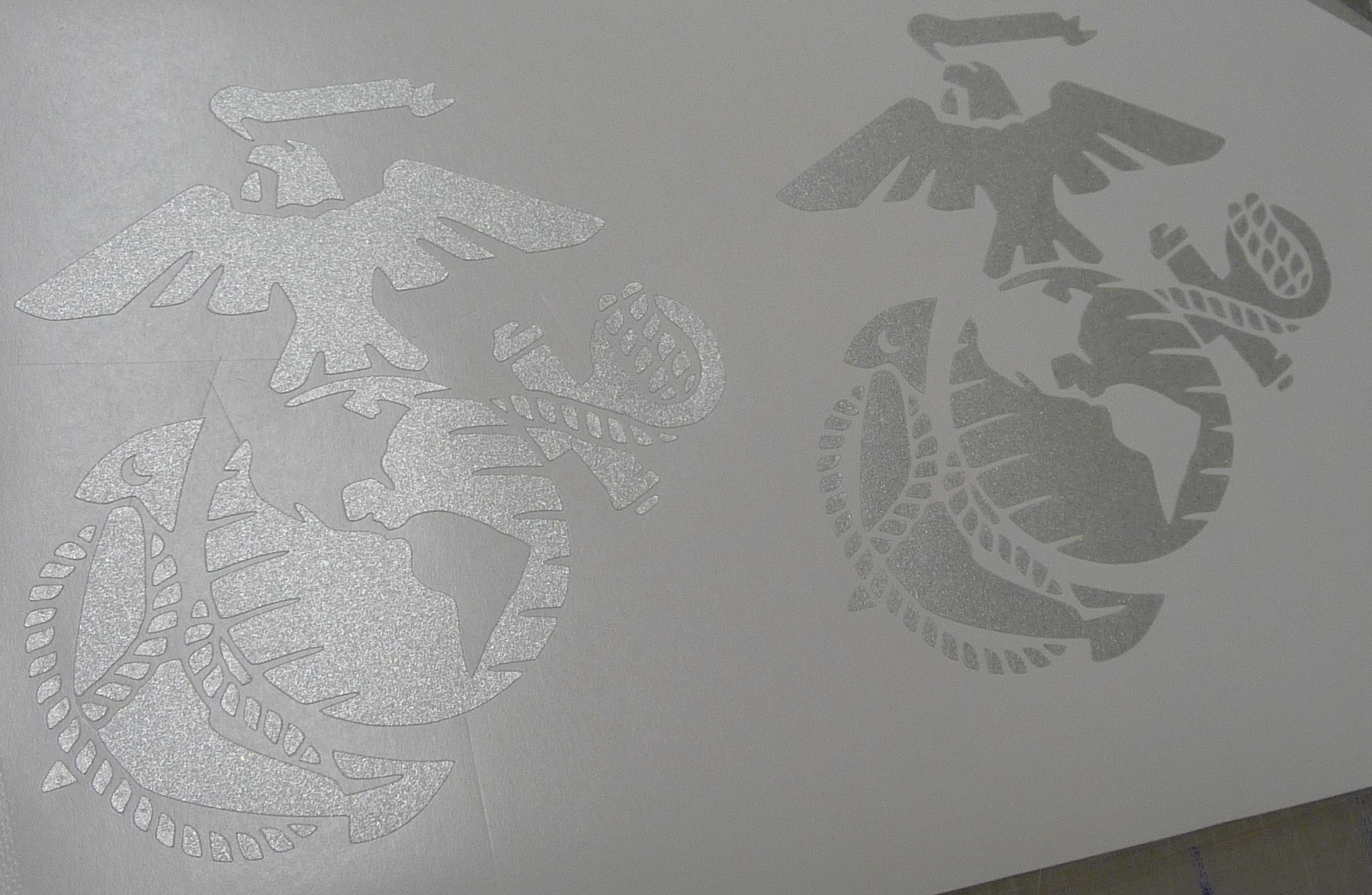Custom Etched Glass Decal