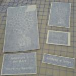 Custom Glass Etching Stencils