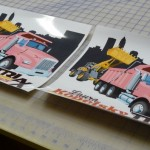 Full Color Printed Vinyl Decal