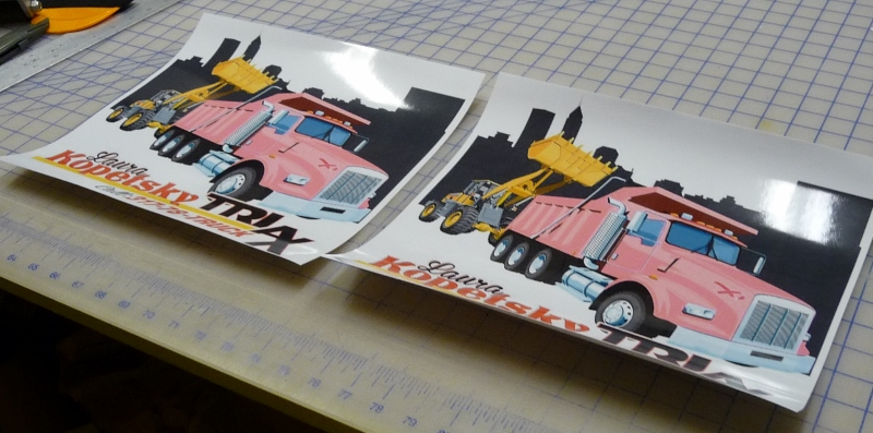 Custom Full Color Printed Decals