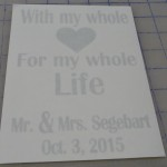 Custom Window Pane Decal