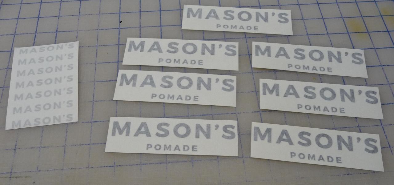 Custom Glass Decals