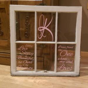 Customer Photo - Custom Window Pane Decal